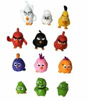 Angry Birds Movie 11 figures Set Red Chuck Bomb Matilda Leonard Ross minifigures