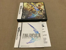 DS NO GAME Final Fantasy XII Case & Booklet ONLY Quick FREE Shipping Nintendo