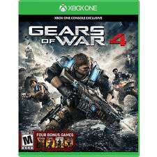 Gears of War 4 (Microsoft Xbox One, 2016) Brand NEW never been opened