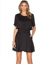 IRO Felly Fit and Flare Dress Size FR 34 US Size O Black EUC