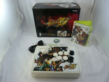 xbox 360 ARCADE FIGHTSTICK street fighter IV 20th anniversary + game