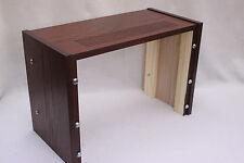 Pioneer RT-909 901 reel to reel deck- custom made dark cherry cabinet made in MA