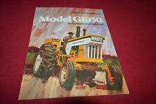 Minneapolis Moline G1050 Tractor Brochure FCCA