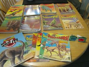 Dinosaurs Magazine and Card Collection by Orbis