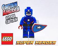LEGO Custom Minifigure - CAPTAIN AMERICA - HYDRA CAPTAIN - SDCC - SUPER HEROES