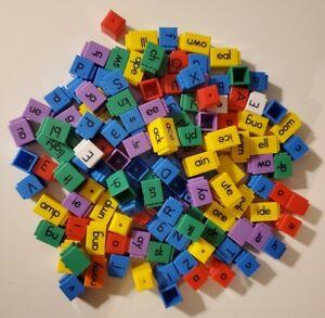 WORD BUILDING BLOCKS 139 PIECE SET - EUC