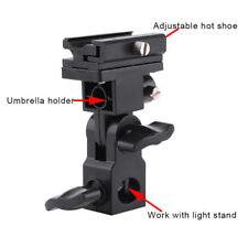 Hot Shoe pivotant Montage Photo Porte-parapluie Support-B-Flash Lights Support Adaptateur