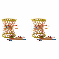 Hape Eco Design Bamboo Sticks and Tumbling Ball Balance Pallina Game  (2 Pack)