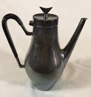 Reed and Barton Denmark Coffee Pot Mid Century Modern John Prip Designer EUC
