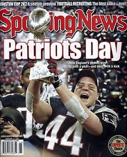 New England Wins 1st Super Bowl Sporting News 2002 Champs Patriots Day No Label!
