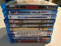BULK Blu-Ray Movies - Adventure - Drama - Action - Comedy - Movie DVD BluRay