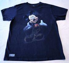 Disney Mikey Mouse T Shirt Tee Navy 100% Cotton Men's XL