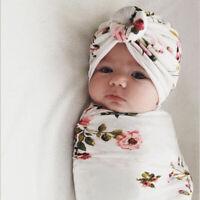 Baby Sleeping Swaddle Blanket Hat Newborn Swaddle Blanket Baby Swaddle Cloth