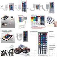 24/44 Key IR Remote Controller Box AC/DC 12V Fr LED RGB 5050/3528 Light Strip BL