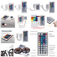 24/44 Key IR Remote Controller Box AC/DC 12V Fr LED RGB 5050/3528 Light Strip BL