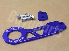 GEN2 BLUE Anodized Aluminum Rear Tow Hook 2006-2011 Honda Civic FD1 FD2, FD7