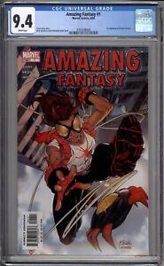 Amazing Fantasy 1 CGC Graded 9.4 NM 1st Anya Corazon Marvel Comics 2004