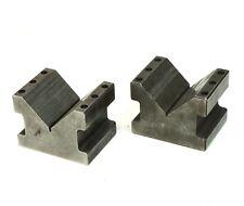 "Set of 2 Precision V-Block 2-3/4"" Capacity 4"" L 3"" H  3"" W"