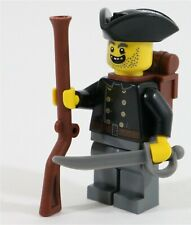 LEGO PIRATES IMPERIAL PRUSSIAN ARMY SOLDIER MINIFIGURE - MADE OF GENUINE LEGO