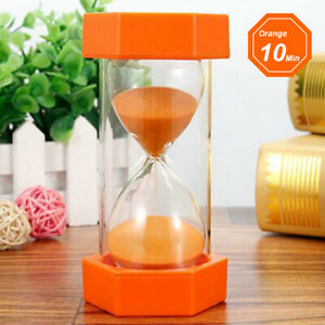 1Pc Large Sand Egg Hourglass Timer SEN ADHD ASD 1/3/5/10/15/30 Minutes