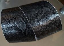 3D Pellicola Pellicola in Carbonio Stagnola autoadesiva PYTHON carbonio (f).