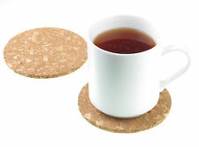 4 Pcs 10cm Plain Round Cork Coasters Heat Pads Drink Wine Mug Glass Mats SYDNEY