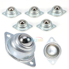 5 Pcs Nickel Plating Steel Universal Transfer Bearing Ball Conveyor Roller Wheel