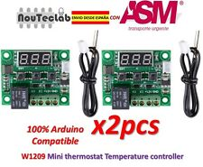 2pcs W1209 Digital Cool Heat Thermostat Thermometer Temperature Control DC12V