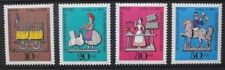 GERMANY BERLIN 1969 Relief Funds Pewter Models. Set of 4. MNH. SGB339/342.