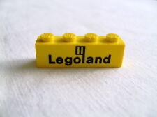 Lego Einzelteil 3010p30 Brick 1x4 Legoland gelb 681,355,652,450