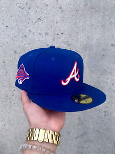 Hat Club Exclusive Atlanta Braves Fitted Cap 7 1/4 WS95 Patch