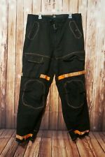 VTG Marithe Francois Girbaud Taped Shuttle Jeans Cargo Pants Baggy M+FG Size 36M