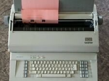 Used Brother EM-605 SC Business Class Office Type Electronic Typewriter