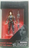 "The Black Series Star Wars Sergeant Jyn Erso 3.75"" Action Figure Hasbro Toy Gift"