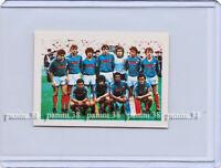 "RARE !! FRANCE TEAM with PLATINI Sticker ""WORLD CUP MEXICO 86"" Navarrete"