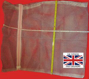 Mesh Net Laundry Clothes Socks Bra Zipped Bag Student.3 Sizes-UK STOCK