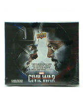 2016 Upper Deck Captain America Civil War Trading Cards Hobby Box Sealed New