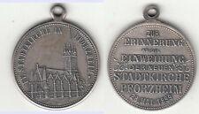 Baden evangelische Stadtkirche Pforzheim 28. Mai 1899 Medaille unedel 9,81g Ø29