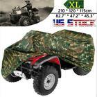 XL Camo Waterproof ATV Quad Bike Cover for Honda Rancher TRX 350 400 420 FE