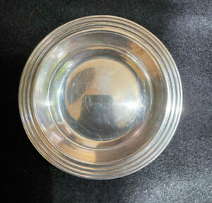 FISHER STERLING SILVER NUT DISH #2541