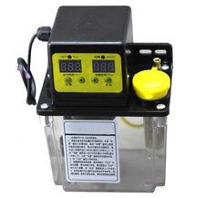 AC220V 1.8L Auto Electric Lubrication Pump Oiler CNC Dual Digital Display 1.0Mpa