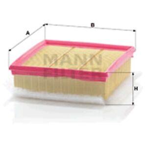 Mann Air Filter Element For Vauxhall Corsa 1.3 CDTI 1.4 1.6 VXR 1.7 CDTI