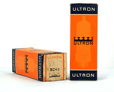 1x ECH3 ULTRON NOS SEALED Tube Röhre Valvola Lampe TSF Valvula Valve 진공관 真空管