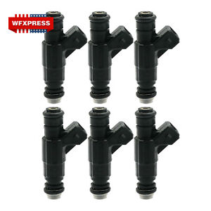 6x Fuel Injector For 97-98 Ford Explorer Mountaineer VIN E 4.0L V6 0280155734