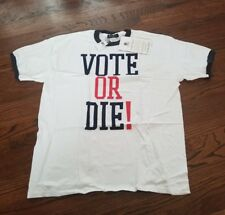 SEAN JOHN VOTE OR DIE 2004 CITIZENS CHANGE SHIRT Size XXL New with Tags