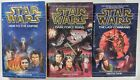 STAR WARS  Book Set- VOLUMES 1, 2, & 3 OF THE THREE BOOK CYCLE by TIMOTHY ZAHN