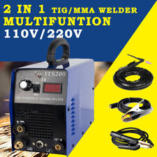 TIG/MMA Welding Machine HF TIG weld Stainless Carbon Steel +accessories 110/220V