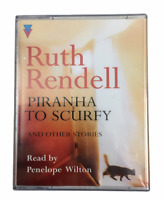 Ruth Rendell Piranha to Scurfy read by Penelope Wilton   2 Cassette Audio Book