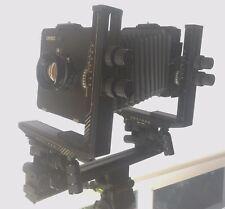 Cambo Master PC 4x5 Studio Camera. Caltar II-N F/5.6 210mm Lens. Bag & Accordion