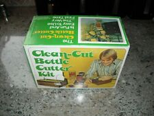 Vintage Clean Cut Bottle Cutter Kit Glass Cutter